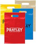 14 X 9.5 Die Cut Plastic Bags